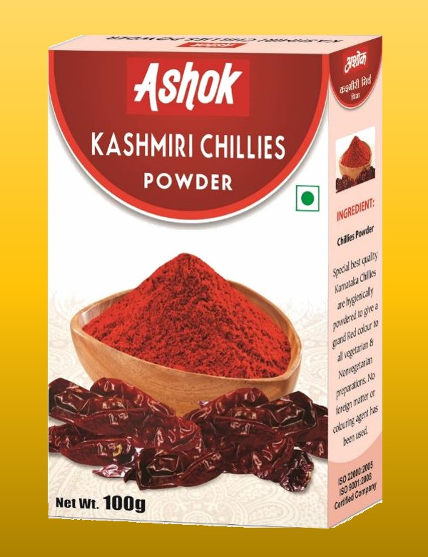 Kashmiri Chillies Powder Image